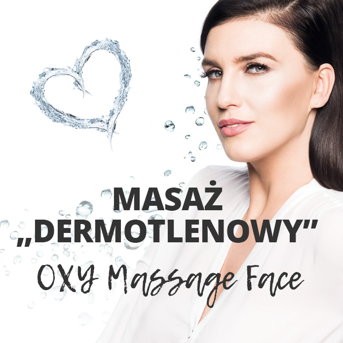 "MASAŻ ""DERMOTLENOWY"" OXY MASSAGE FACE ACNE'H"