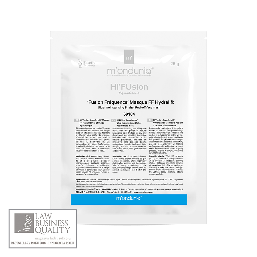 'Fusion Fréquence' Masque FF Hydralift
